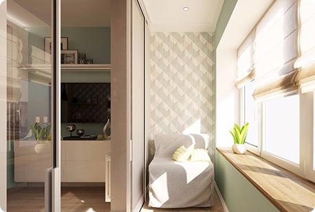 Нужно объеденить балкон с комнатой?